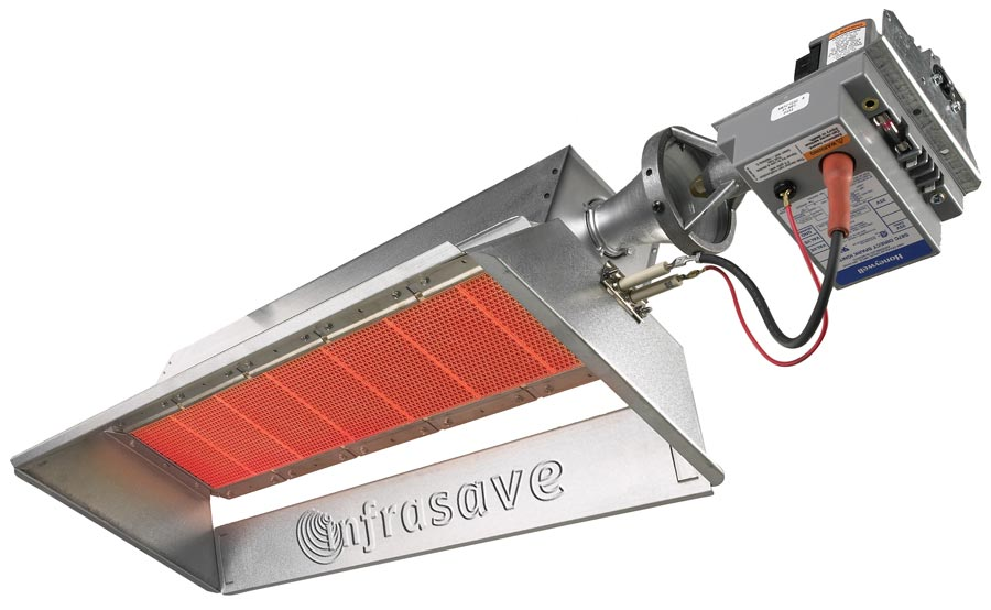 Commercial Radiant Infrared Tube Heaters Combined